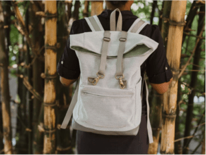 Gift of Hope: person wearing a backpack